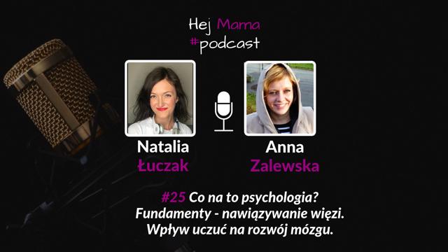 #25 Fundamenty – nawiązywanie więzi: Rozmowa z Anną Zalewską – część 2