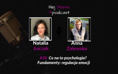 #28 Fundamenty – regulacja emocji: Rozmowa z Anną Zalewską