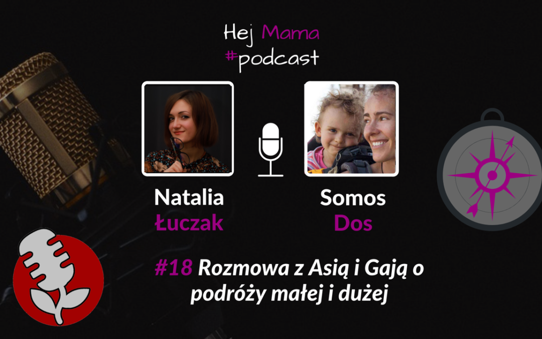#18 Samotna mama w podróży po świecie: Rozmowa z Asią i Gają.