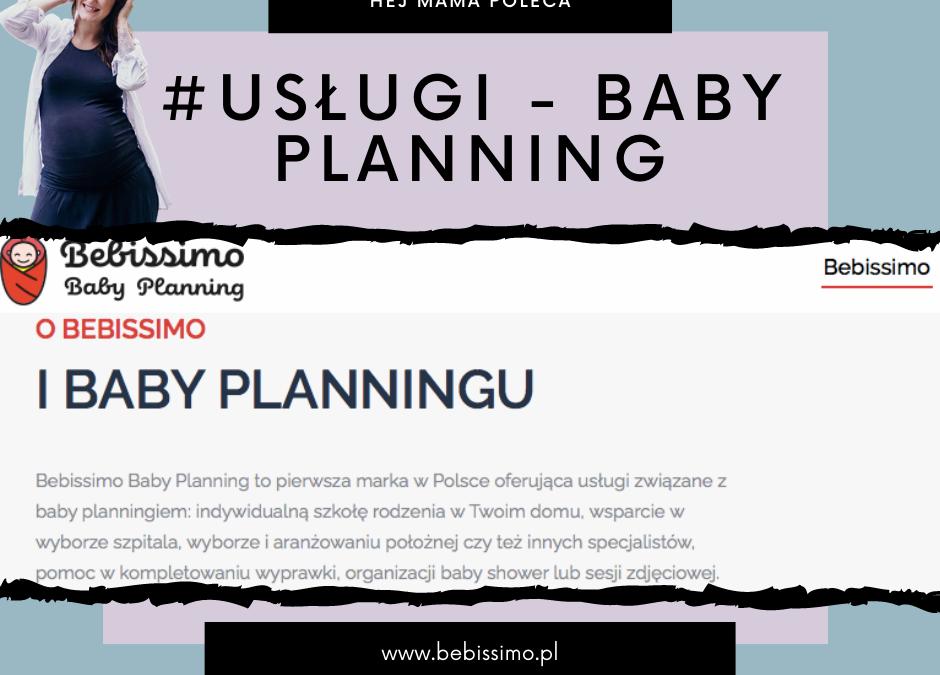 #Usługi – BabyPlanning