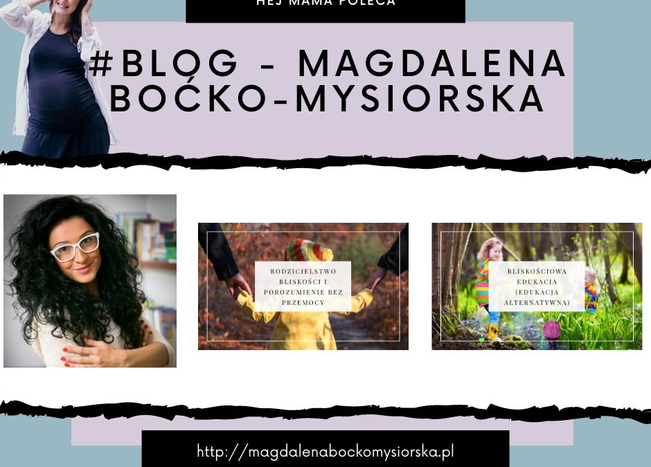 #Blog – Magdalena Boćko-Mysiorska